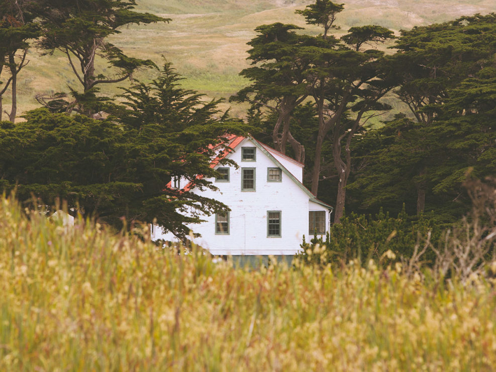 House Point Reyes National Seashore California