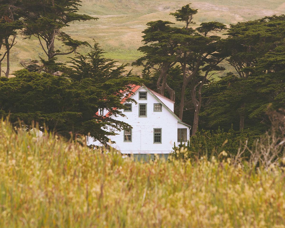 House Point Reyes National Seashore California