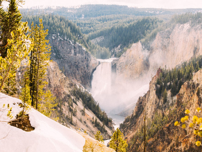 Yellowstone National Park travel photography