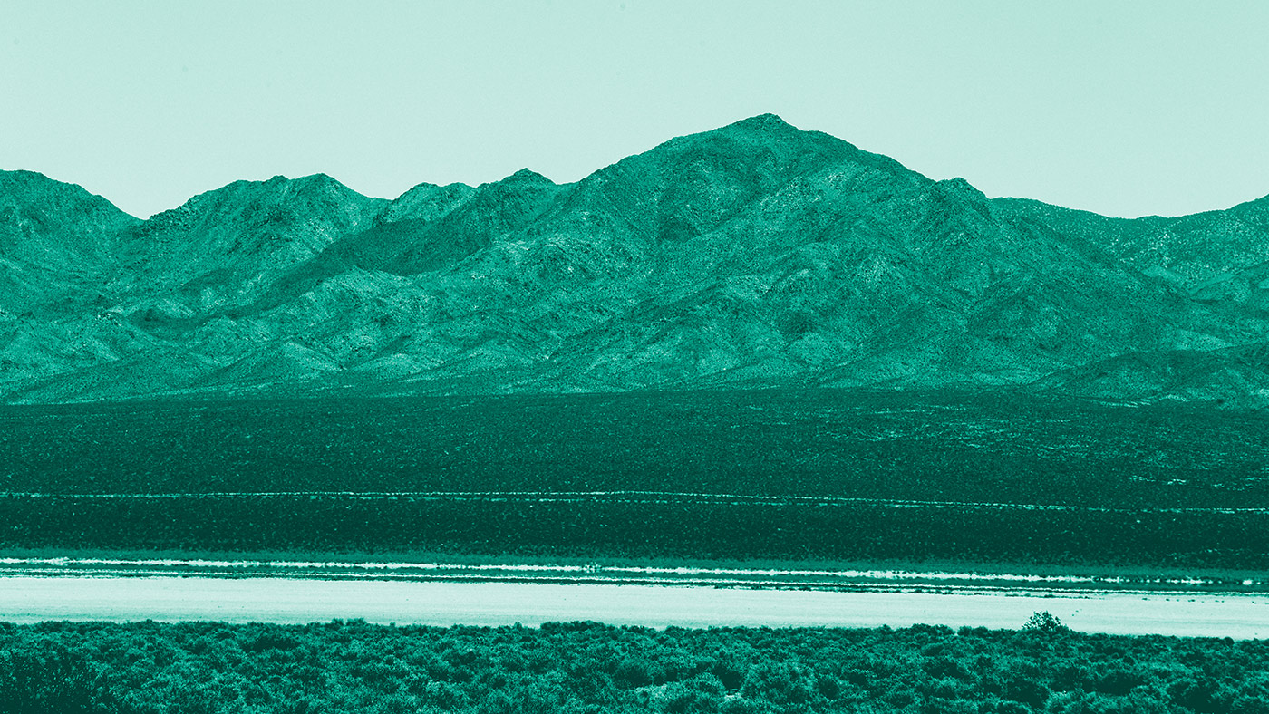 Mojave National Park travel landscape