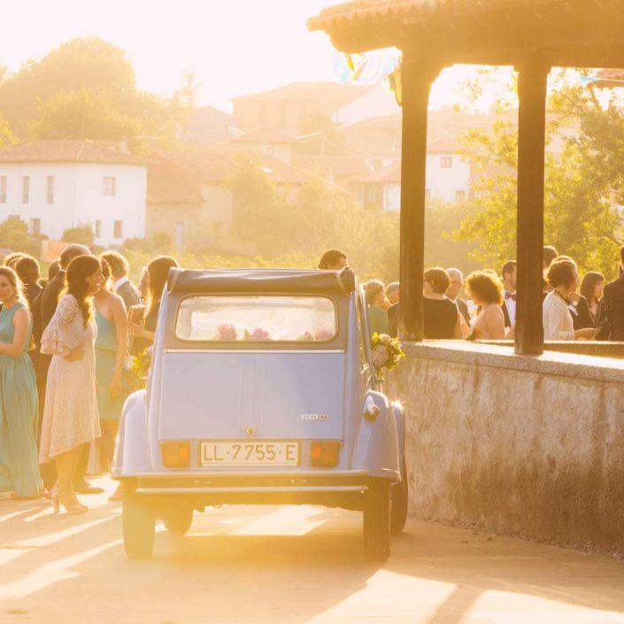 wedding car spain wedding