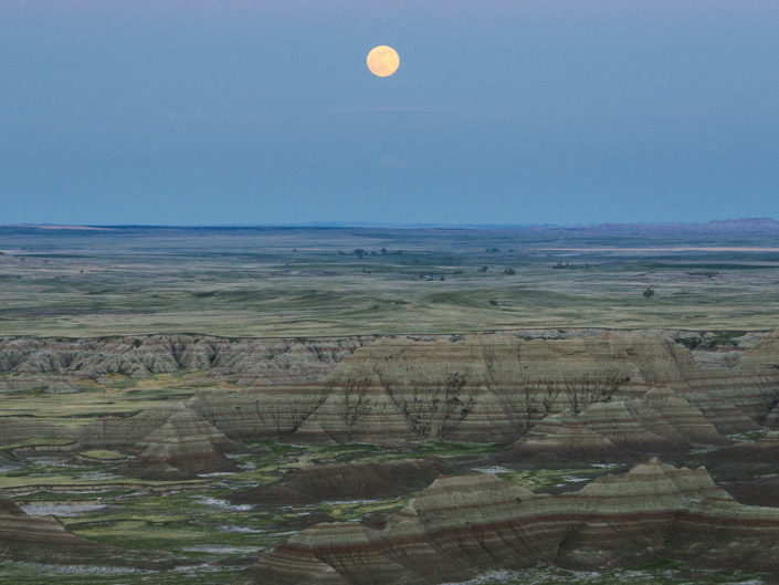 travel photography landscape badlands np south Dakota