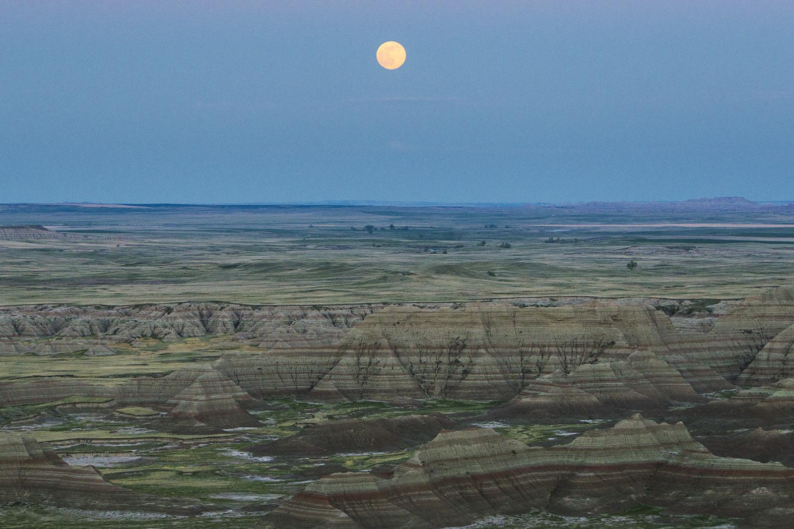 travel photography landscape badlands np south Dakota