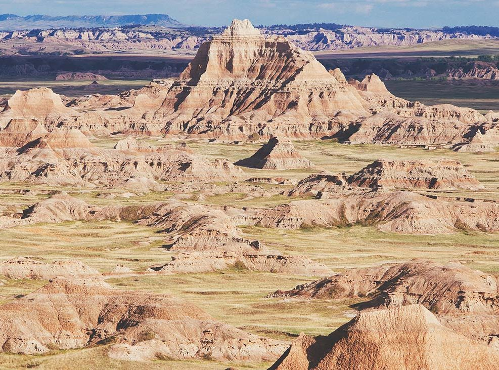 badlands landscape usa travel photography
