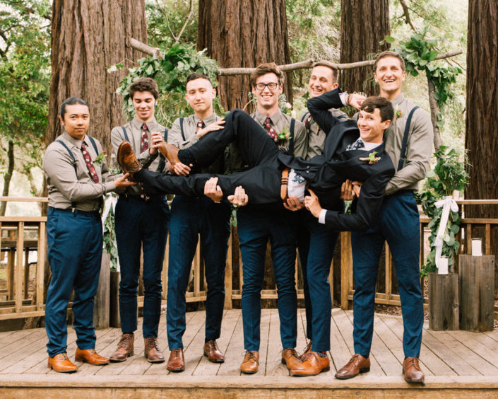 Redwoods Wedding Sanborn park saratoga California photographer
