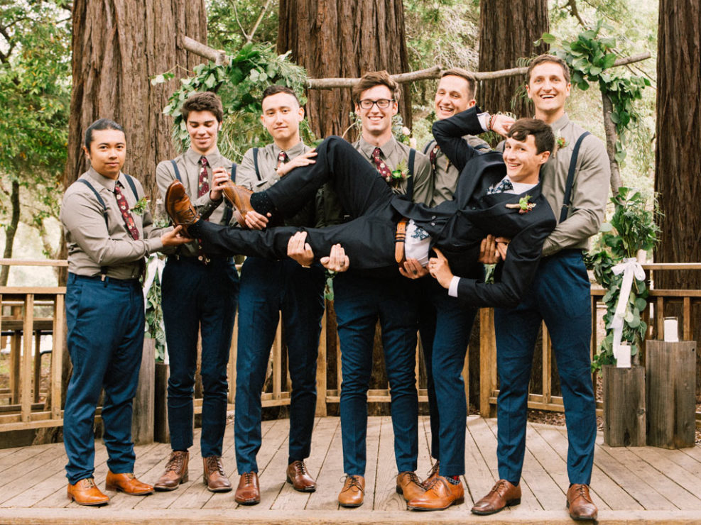 Redwoods Wedding Sanborn park saratoga California photographer