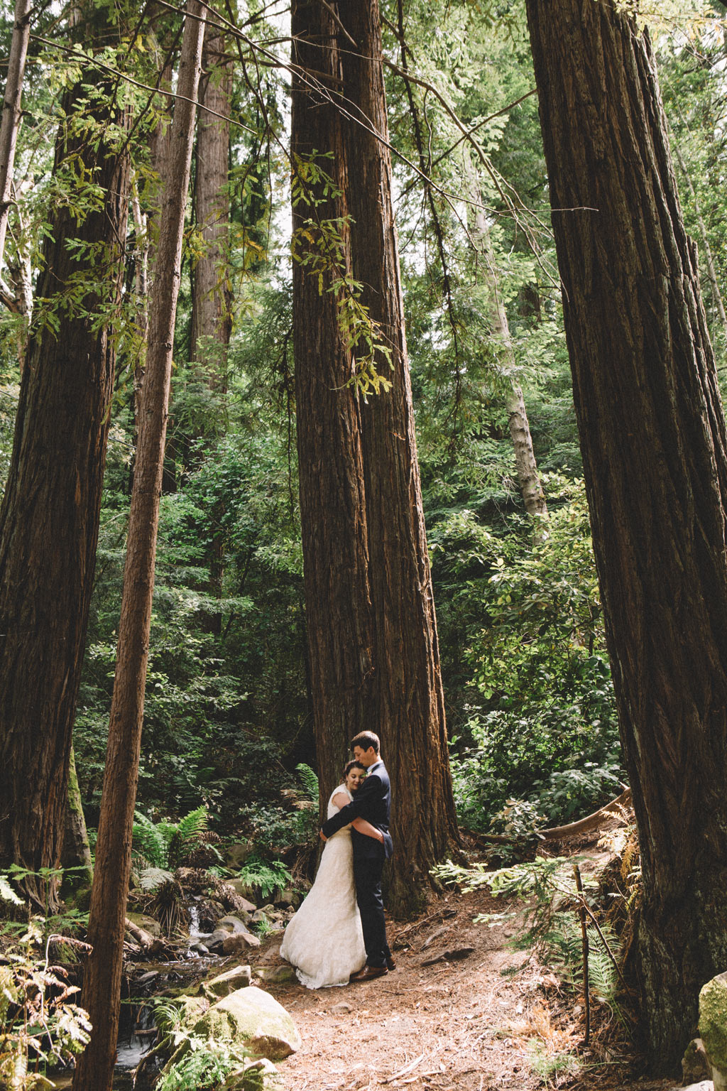 Redwoods Wedding Sanborn park saratoga California