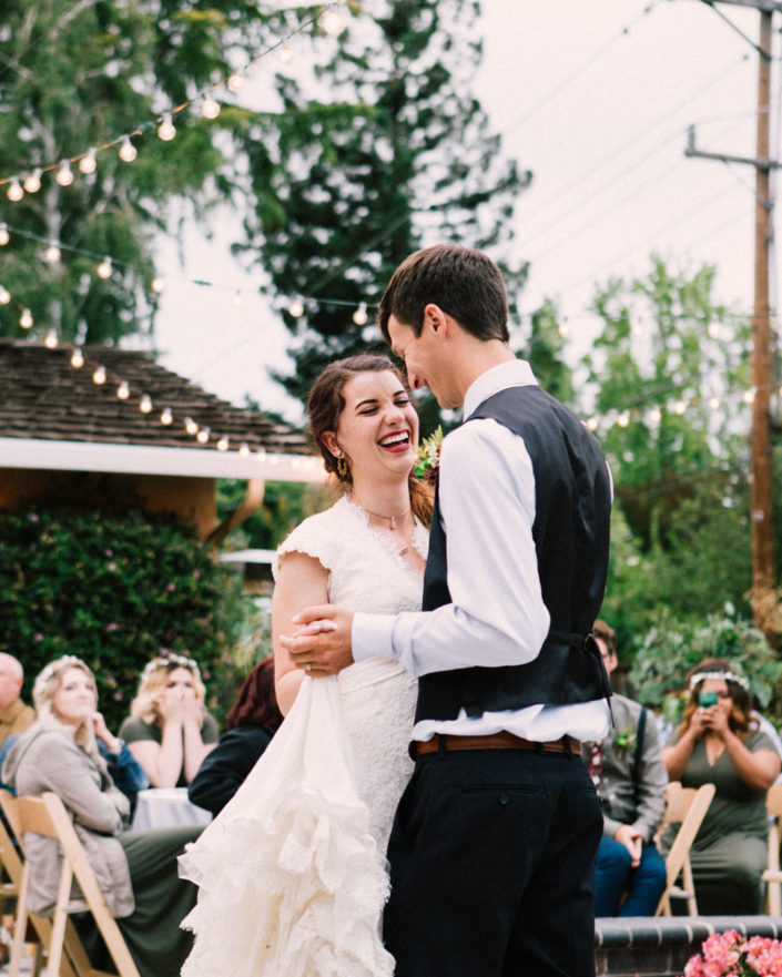 California wedding saratoga redwoods wedding